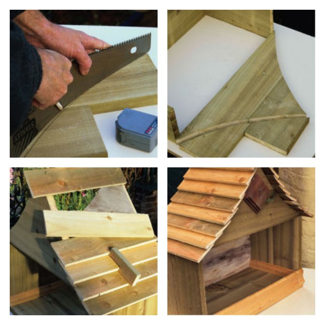 cat chalet step by step